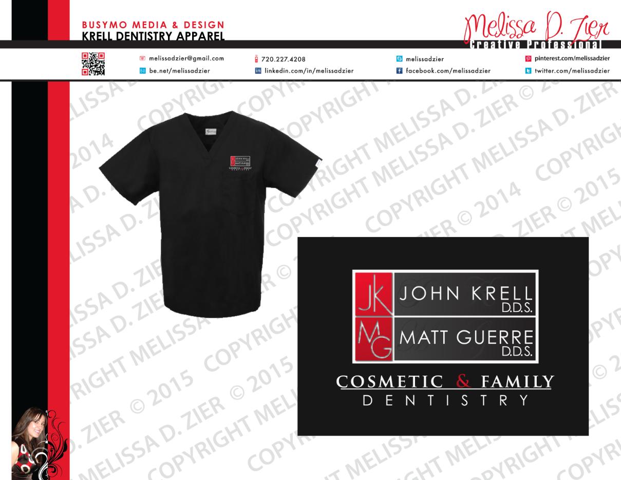 Krell Dentistry Branded Uniform