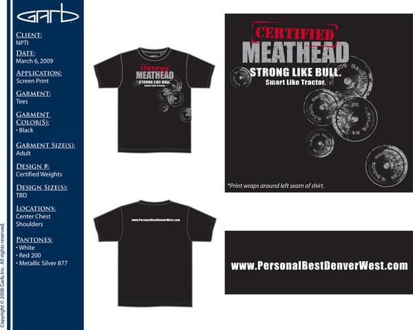 NPTI Mens Tshirt Design