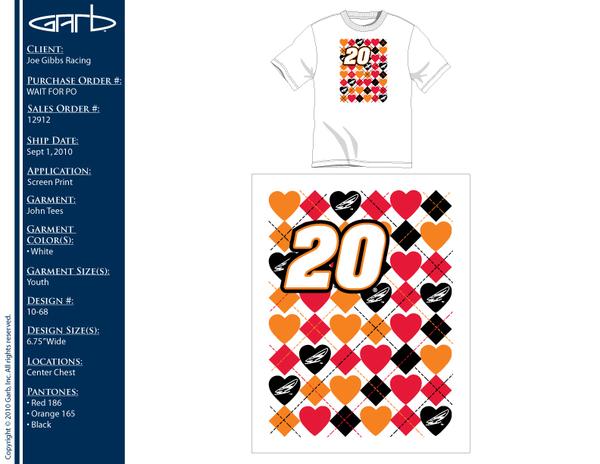 NASCAR Girls Tshirt Design