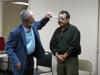 Health and Vision Clinic for Homeless and Indigent
