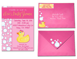Baby Shower Invitation Set