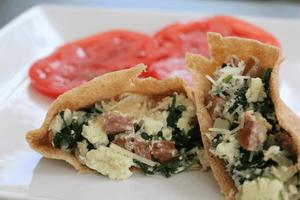 Healthy breakfast recipes: breakfast pita