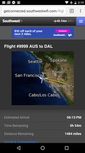 Wacky Flight Tracker Southwest