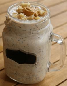 PB banana protein overnight oats