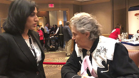Chatting with Dr. Temple Grandin