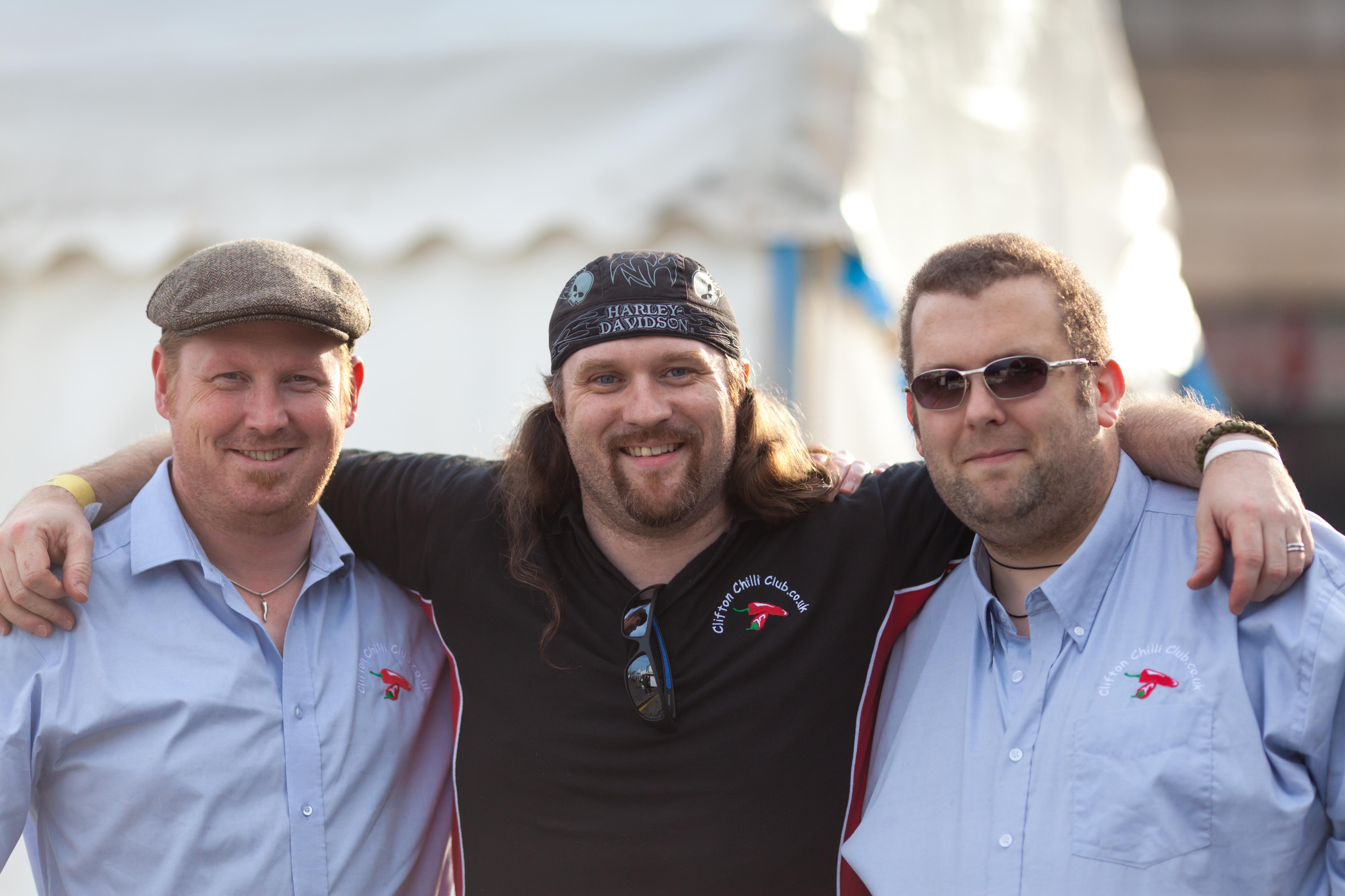 CCC members Jim, Jay & Nick