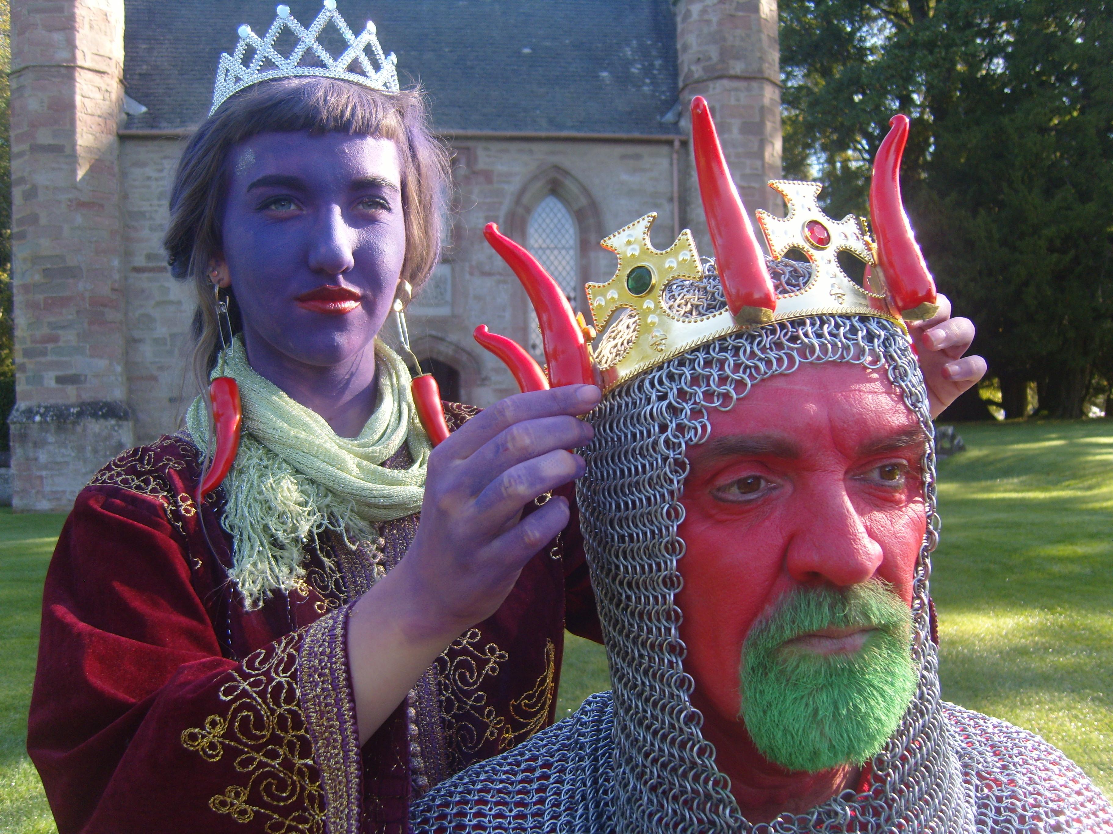King Chilli & Princess Beetroot