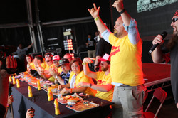 French's Hot Dog competition