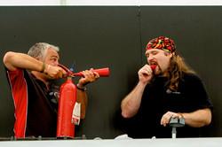 ChilliDave extinguishes Jay