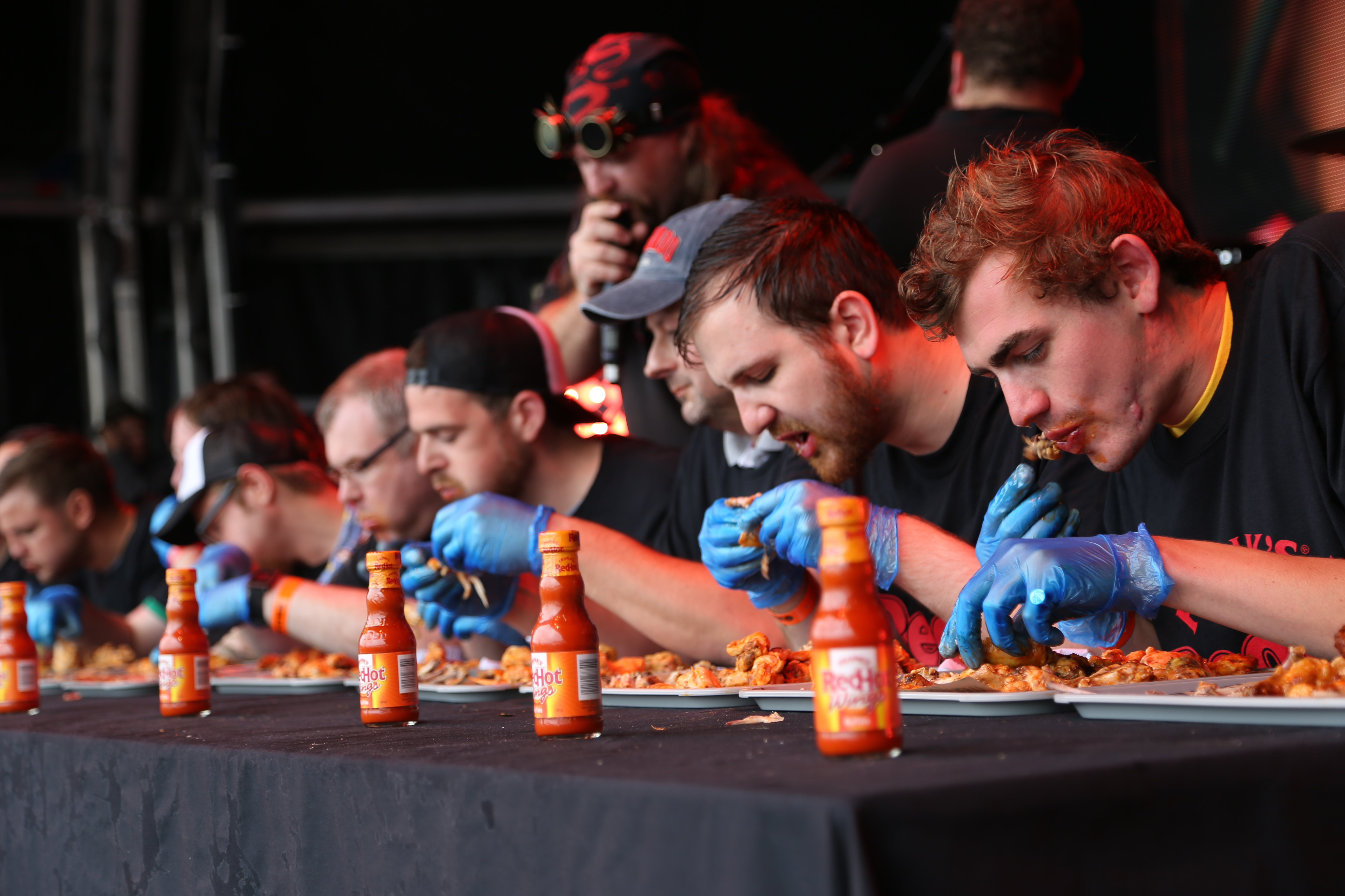 Frank's Red Hot Wings competition