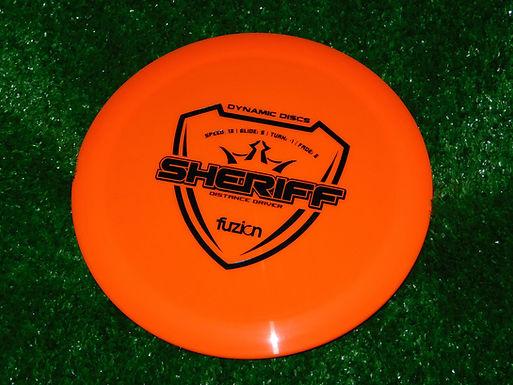 Dynamic Discs Fuzion Sheriff