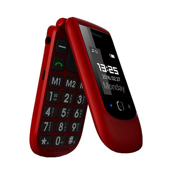 YINGTAI T09 Best Feature Phone GSM Big Push-Button Flip Phone Dual Screen