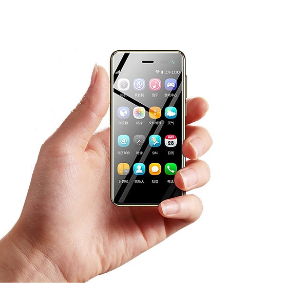 """U2 3.5"""" Mini Touch Android 8.1 Small Mobile Phone MTK6739 Quad Core 4G Smartphon"""