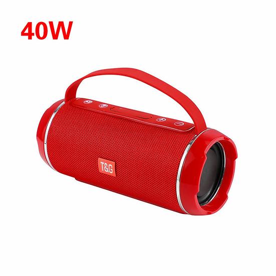 High Power 40w Wireless Bluetooth Speaker Waterproof Stereo Bass USB/TF/AUX MP3
