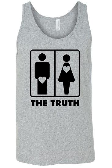 Men's the Truth About Men & Women Tank Top Shirt