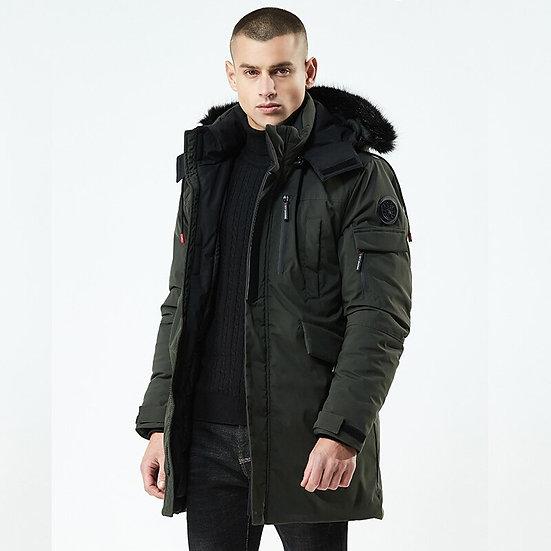 Fashion Winter Parkas Men -30Degrees New Jacket Coats Men Warm Coat Casual Parka