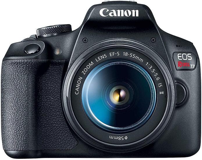 Canon EOS REBEL T7 DSLR Camera|2 Lens Kit with EF18-55mm + EF 75-300mm Lens