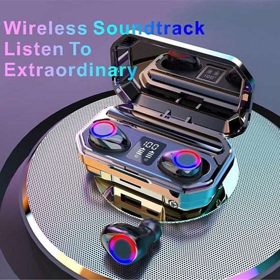 4000mAh Wireless Headphones Bluetooth 5.0 Earphones Earbuds TWS Sport 9D Stereo