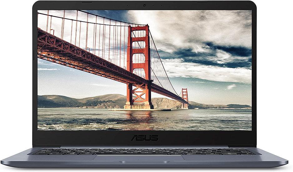 "ASUS Laptop L406 Thin and Light Laptop, 14"" HD Display, Intel Celeron N4000 Proc"