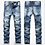 Thumbnail: 2020New Men Jeans Hole Ripped Stretch Destroyed Hip Hop Jean Homme Masculino