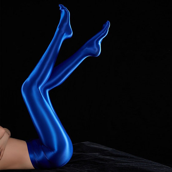 Sexy Shiny Full Pencil Pant Oil Gloosy Candy Color Sexy Full Leggings Smooth