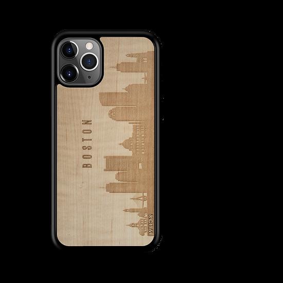 CityScape Wooden Phone Case | Boston MA
