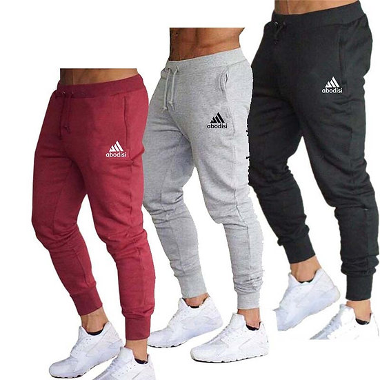 New Spring Autumn Brand Gyms Men Joggers Sweatpants Men's Joggers Trousers