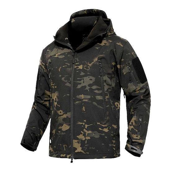 Mege Shark Skin Soft Shell Military Tactical Jacket Men Waterproof Army Fleece