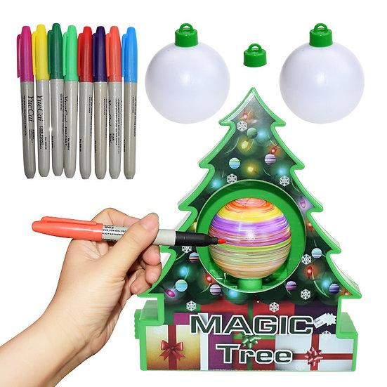 Magic Christmas Tree DIY Christmas Tree Decoration Kit Electric Painting