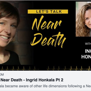 Let's Talk Near Death With Kirsty Salisbury Part 2