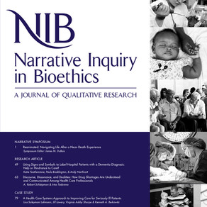 Narrative Inquiry in Bioethics Journal - John Hopkins University Press