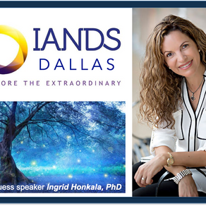 Presenting at Dallas IANDS Group - Hosted by Pete Quortrup and Dr. Jan Holden