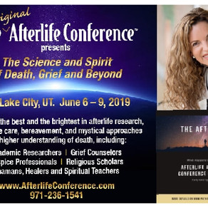 Presenting at The 2019 Afterlife Awareness Conference