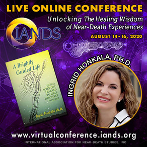 Speaking at the Online IANDS Conference 2020