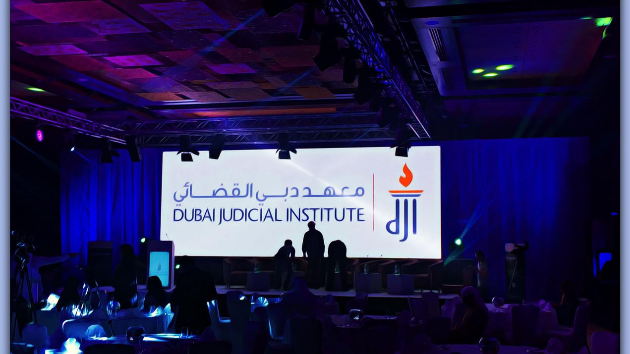 Dubai Judicial Institute Event
