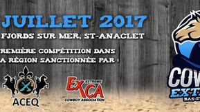 Première compétition de Cowboy Extrême du Bas-Saint-Laurent