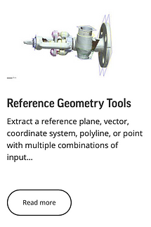 Reference Geometry Tools