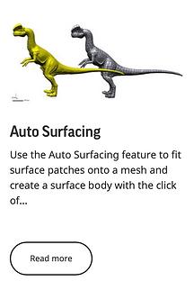 Auto Surfacing