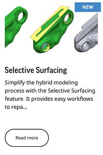 Selective Surfacing