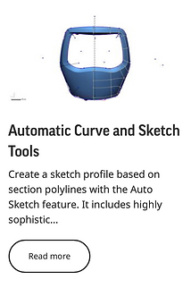 Automatic Curve and Sketch Tools