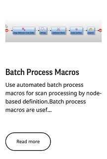 Batch Process Macros