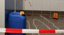 Radeon fotografering för kriminalteknik