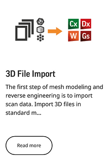 3D File Import