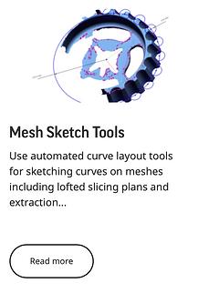 Mesh Sketch Tools