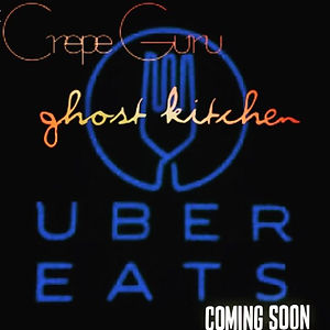 #ubereats to bring a second Crepe Guru