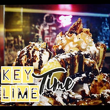 #keylimetime ! Sliced Key-Lime Pie, bana