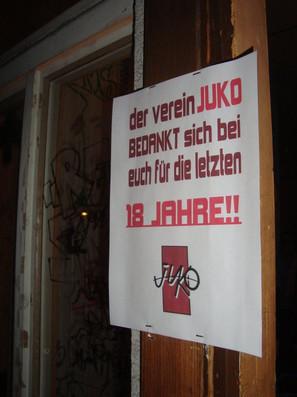 Juko Pavillon, letzter Event