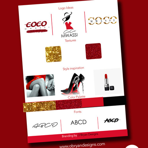 logo Design for CoCo Mwassi