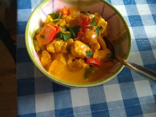 Delicious Veggie Curry!
