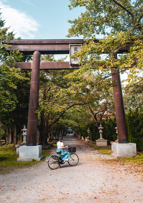 shrine japan kawaguchiko fuji